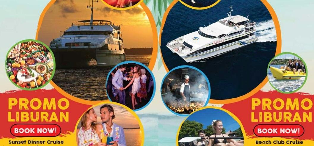 Promo Bali Hai Beach Club& Bali Hai Sunset dinner Cruise@balisaritour.com